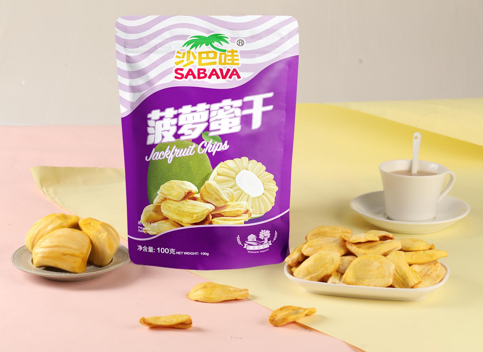 成为沙巴哇美味家族的顶流,菠萝蜜干是如何做到的?